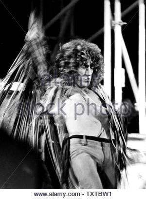 Roger Daltrey of The Who. Credit: 381186_Globe Photos/MediaPunch - Stock Image