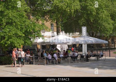 Patisserie Valerie cafe Duke of York Square Chelsea London - Stock Image