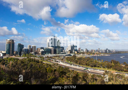 The City of Perth, Australia - Stock Image