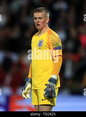 England goalkeeper Jordan Pickford - Stock Image