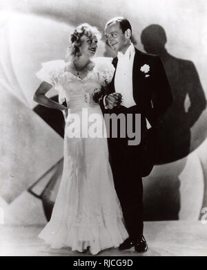 Cinema and Dance legends Fred Astaire (1899-1987) and Ginger Rogers (1911-1995) in 'Flying Down to Rio' (1933) - Stock Image