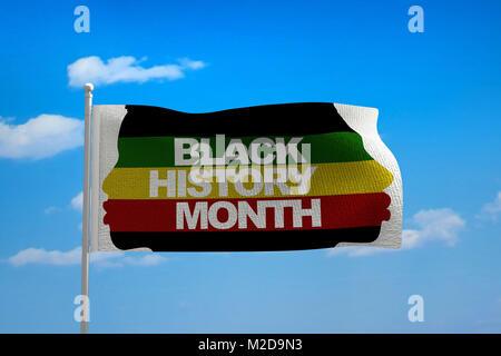 Black History Month - Stock Image