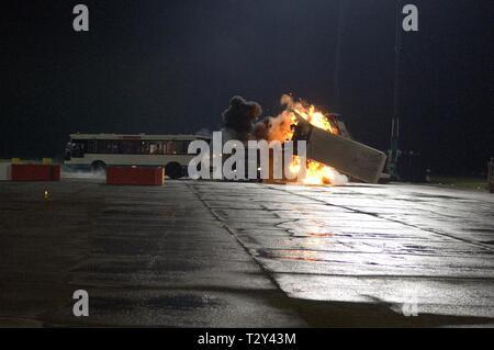EXPLOSION ,  CASINO ROYALE, 2006 - Stock Image