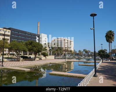 Parque del Oeste (West park). Málaga, Andalusia, Spain. - Stock Image
