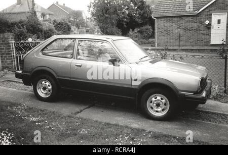 Early Honda Civic Hatchback,1970s - Stock Image