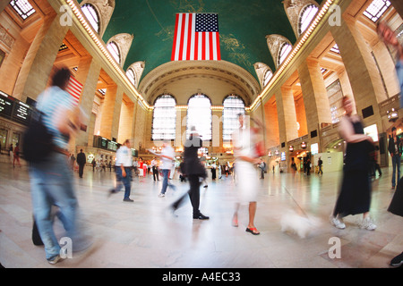 Grand Central Station New York City - Stock Image