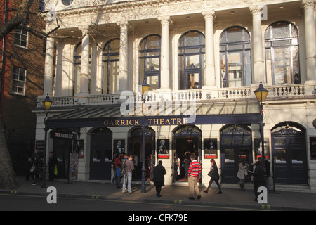Garrick Theatre Charing Cross Road London - Stock Image