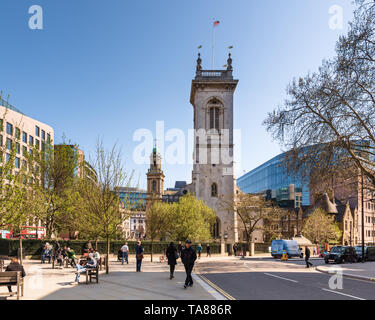 St Andrews Church, London, UK - Stock Image