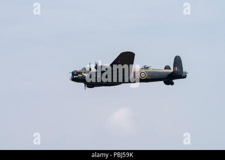 The Battle of Britain Memorial Flight, RAF Fairford, 2018 - Stock Image