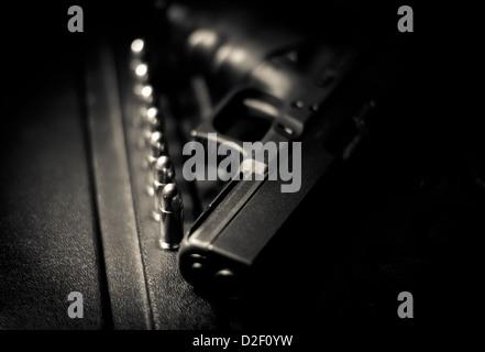 Glock 9mm pistol. - Stock Image