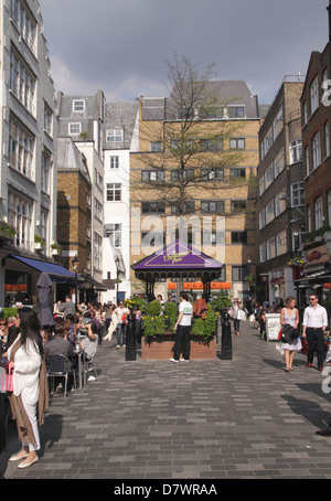 St Christopher's Place in the West End London - Stock Image