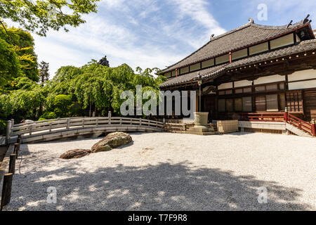 Gyokuzoin Jizodo is a temple of the Shingon sect developed by Kobo Daishi. Besides the main temple Jizo-do temple is adjacent as one part of the whole - Stock Image