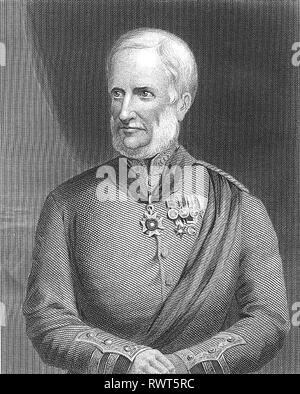 HENRY HAVELOCK (1795-1857) British Army General - Stock Image