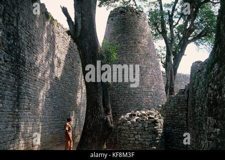 Zimbabwe Masvingo Great Zimbabwe Ruins - Stock Image