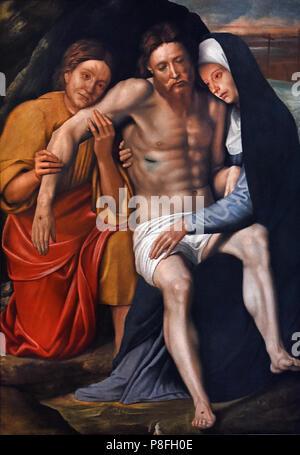 Deposition of the Tearsby Giovanni Francesco Caroto (1480 – 1555 or 1558) Italian Italy - Stock Image