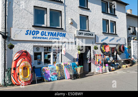 Llagrannog small seaside village Ceredigion West Wales - Stock Image