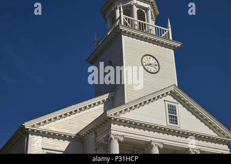 First Congregational Church, Cheshire, Connecticut, New England, USA - Stock Image