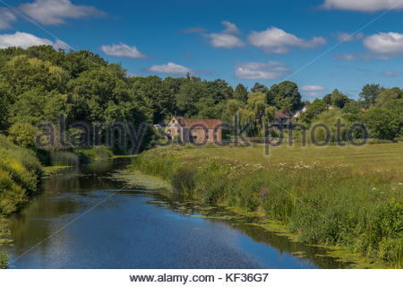 Sturminster Mill on the River Stour - Stock Image