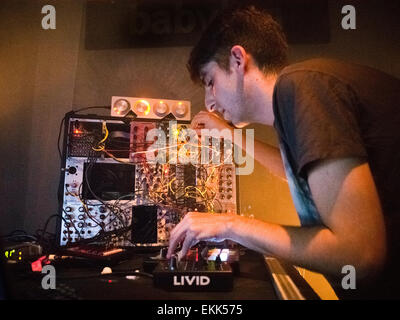 James Holden performing live - Stock Image