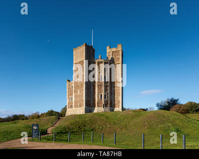 Orford Castle, Suffolk, UK - Stock Image