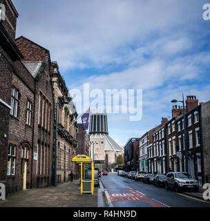 Liverpool Metropolitan cathedral - Stock Image