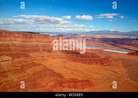 'Dead horse' state park near the Canyonlands Narional Park in Utah, USA - Stock Image