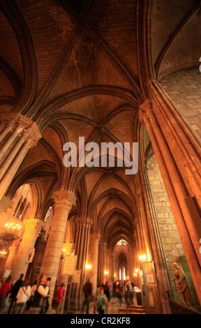 Cathedrale Notre Dame de Paris. France - Stock Image