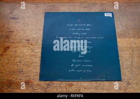 Vinyl album The Hardline According to Terence Trent D'Arby - Stock Image