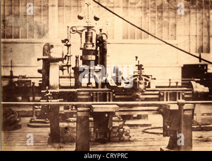 Machine Tools, Great Exhibition of 1851, by Claude-Marie Ferrier - Stock Image