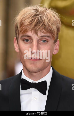LONDON, UK. April 28, 2019: Charlie Cooper at the BAFTA Craft Awards 2019, The Brewery, London. Picture: Steve Vas/Featureflash - Stock Image