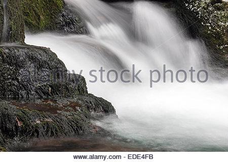 Snowmelt, thaw - Stock Image
