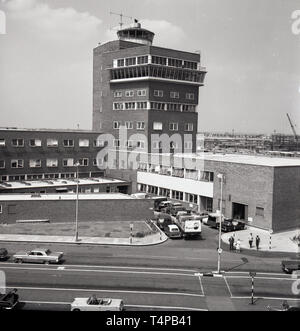 1960s, historical, Heathrow Airport, London, England, UK. - Stock Image