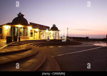 Cromer Pier at dawn - Stock Image