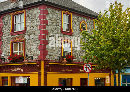 Stone building in the small market square in the centre of Listowel, County Kerry, Ireland - Stock Image
