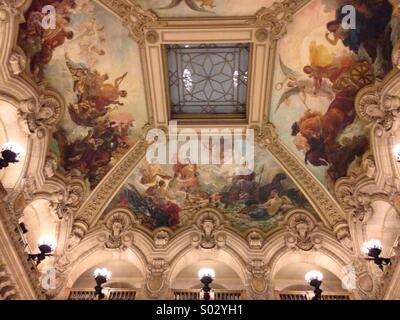 Opéra Garnier - Paris -France - Stock Image