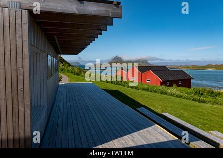 Bo Museum of art, Vesteralen, Norway. - Stock Image