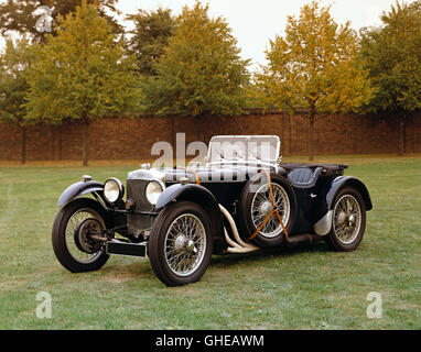 1932 Frazer Nash TT Replica 1 5 litre sports 2 seater Country of origin United Kingdom - Stock Image