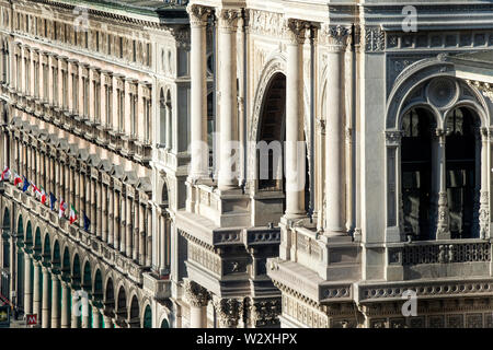Italy, Lombardy, Milan, Vittorio Emanuele Gallery - Stock Image