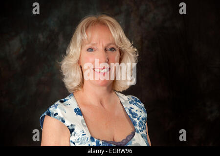 Walsall, West Midlands, UK. 1st March 2015. Monica Price presenter of the Cuppa TV programme at the new Big Centre - Stock Image