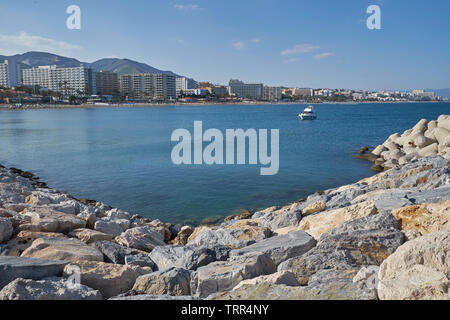 View of Torremolinos. Málaga province, Andalusia, Spain. - Stock Image