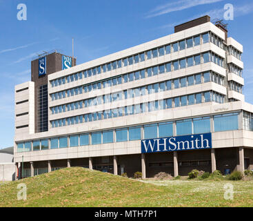 WH Smith distribution centre and headquarter offices, Swindon, Wiltshire, England, UK - Stock Image