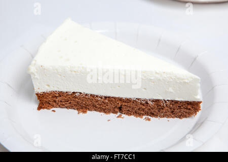 various kinds of ice cream and dessert - Stock Image