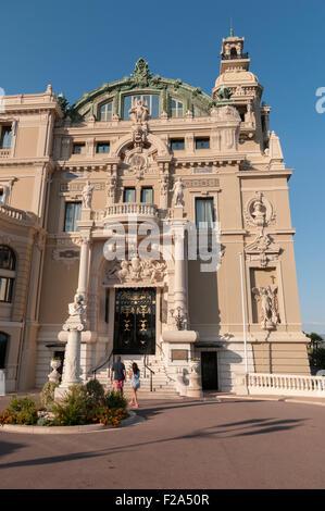 Casino de Monte-Carlo, summers day, Monaco, France. - Stock Image