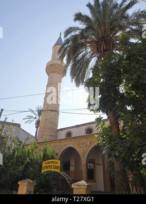 Turunçlu Fethiye Camii in the Northern part of Nicosia Cyprus - Stock Image