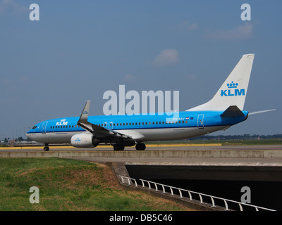 PH-BXV KLM Royal Dutch Airlines Boeing 737-8K2(WL) - cn 30370 3 - Stock Image