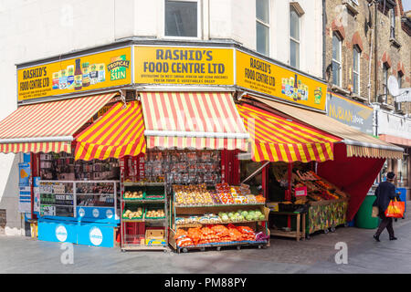 Rashid's Food Centre, Catford Broadway, Catford, London Borough of Lewisham, Greater London, England, United Kingdom - Stock Image