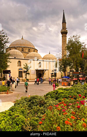 A Mosque In Antalya Turkey - Stock Image