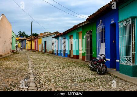 Street Scene – Trinidad Cuba - Stock Image