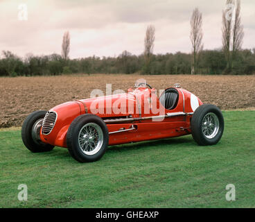 1937 Maserati 6CM 1.5 litre supercharged Vetturetta single seat racing car - Stock Image