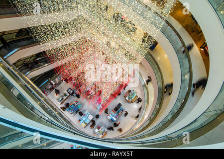 The interior of Peter Jones department store, part of the John Lewis group - Stock Image